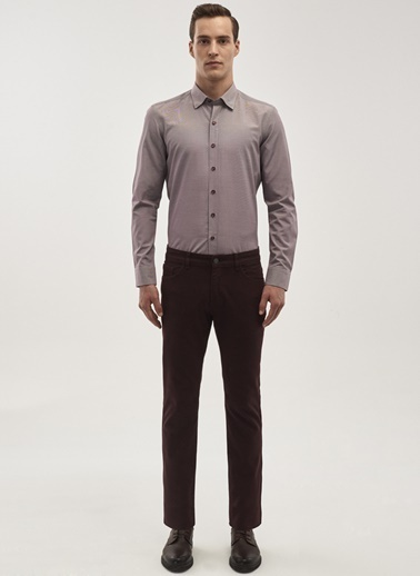 Altınyıldız Classics Gömlek Bordo